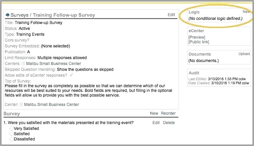 Employee Survey Invitation Email Template