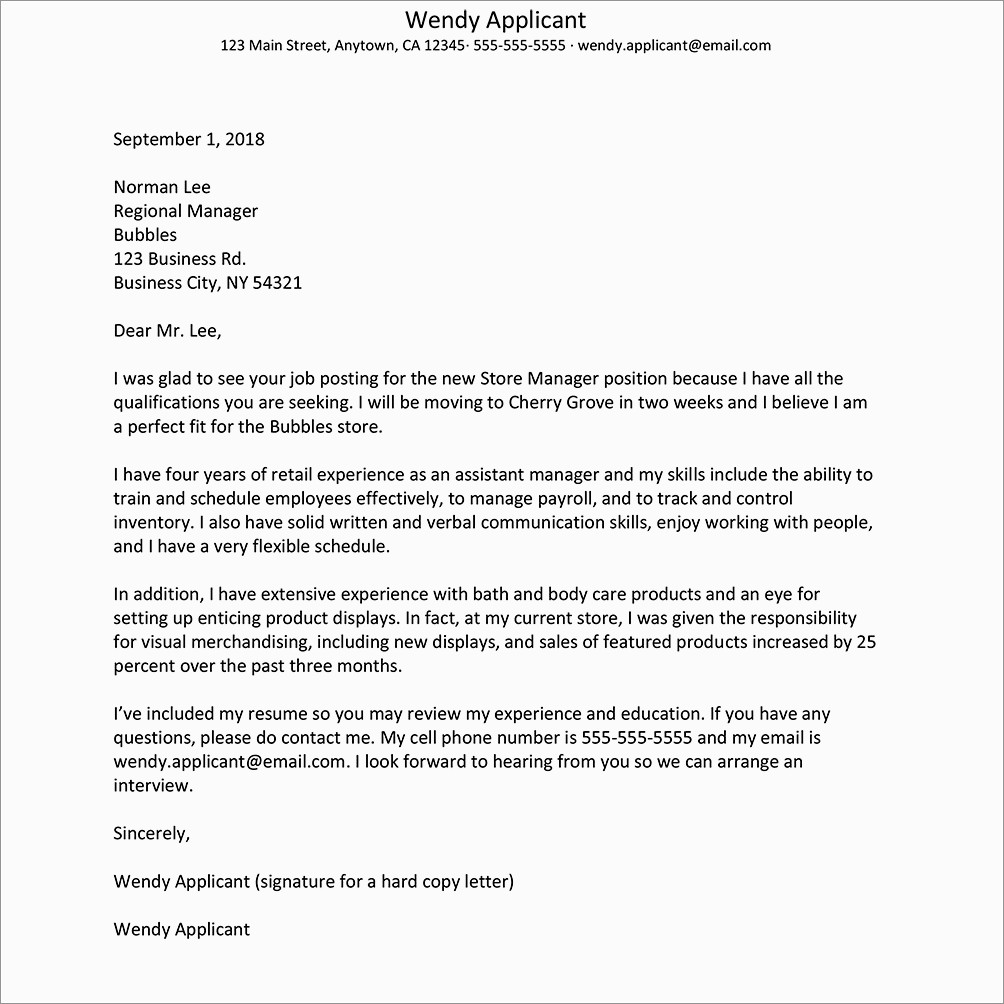 Entry Level Cover Letter No Experience Sample