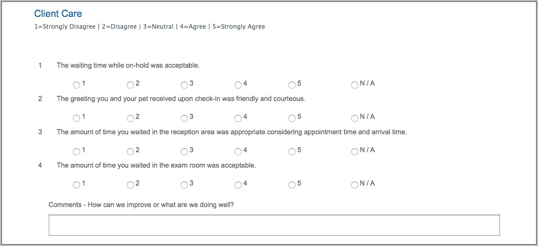 Examples Customer Satisfaction Survey Questions