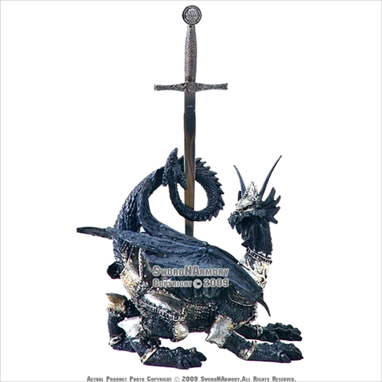 Excalibur Letter Opener  Stand