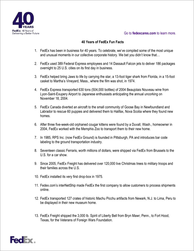 Fedex Overnight Letter To Canada