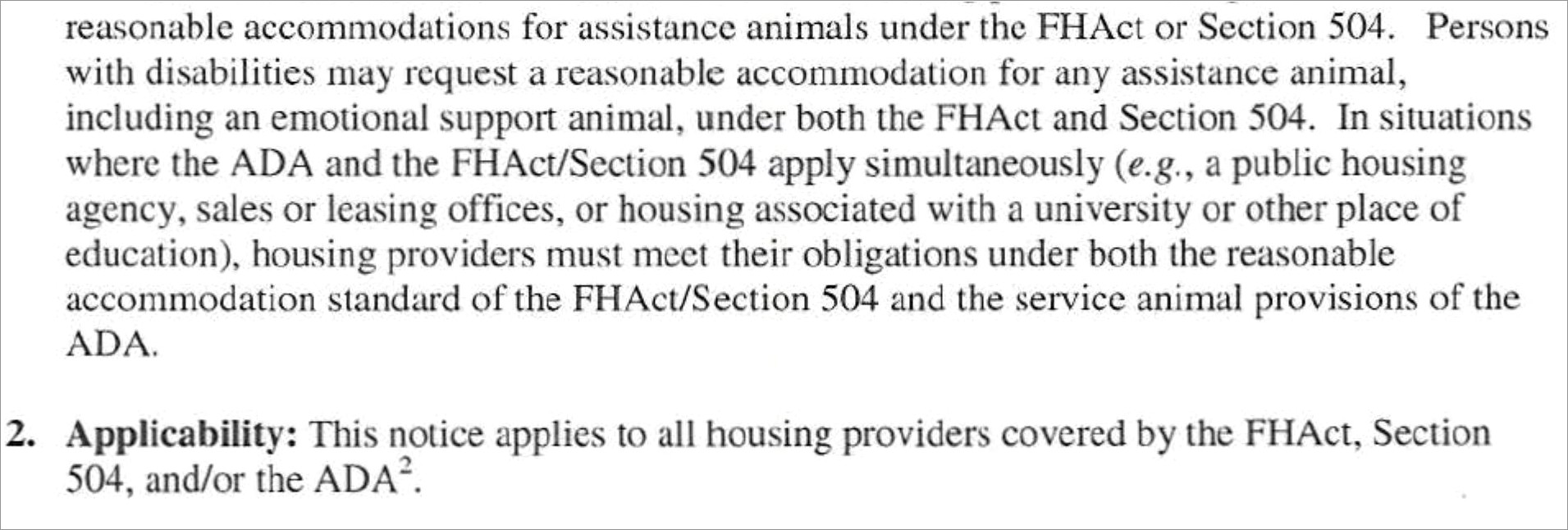 Fha Emotional Support Animal Letter