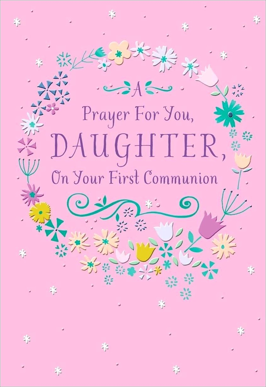First Holy Communion Invitation Cards In Kerala