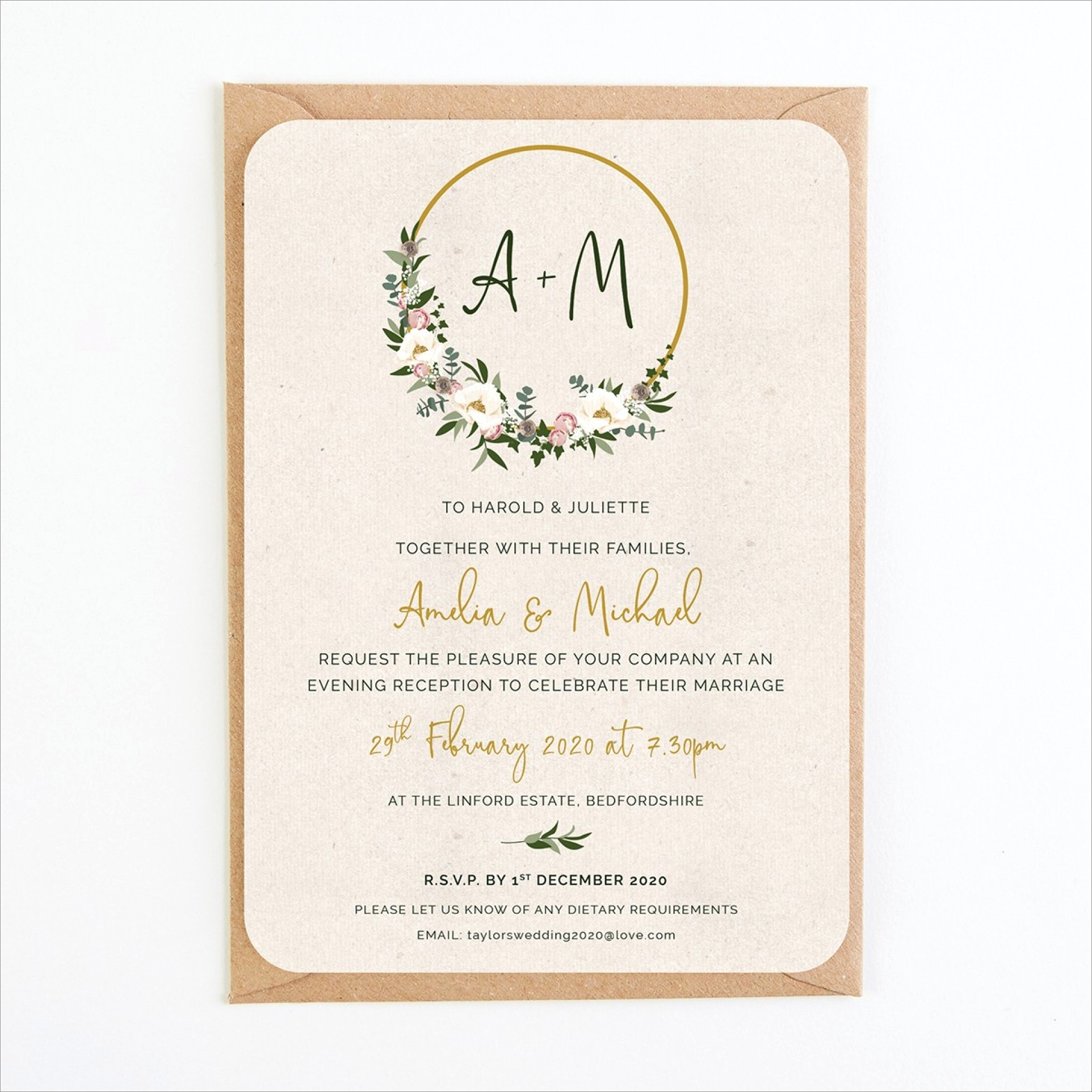 Floral Images For Wedding Invitations
