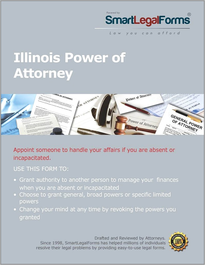 Form Power Of Attorney For Property