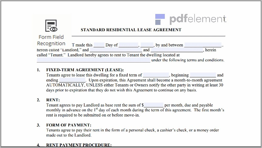 Free Landlord Tenant Lease Agreement Template (10)