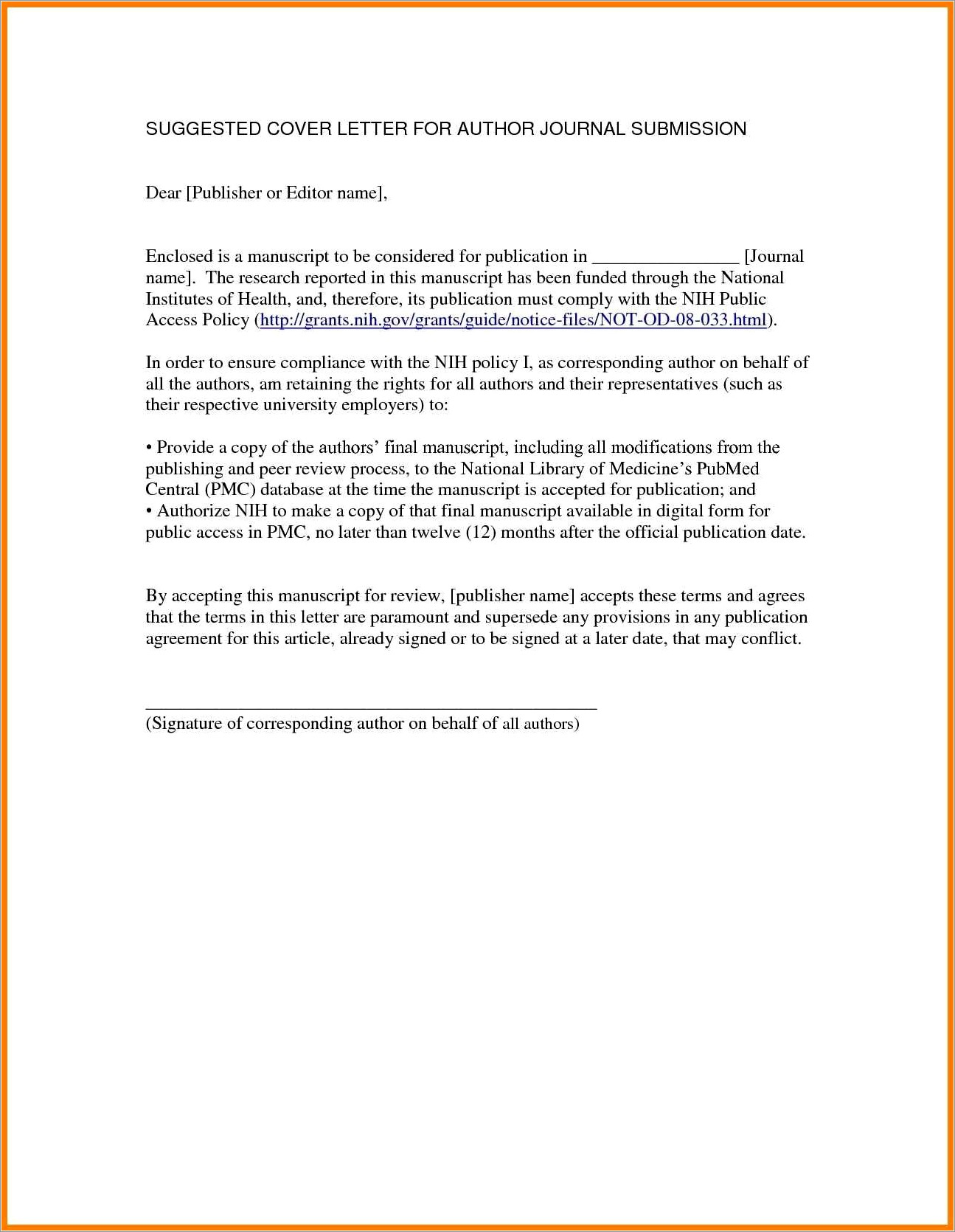 Free Letter Of Intent To Sue Template