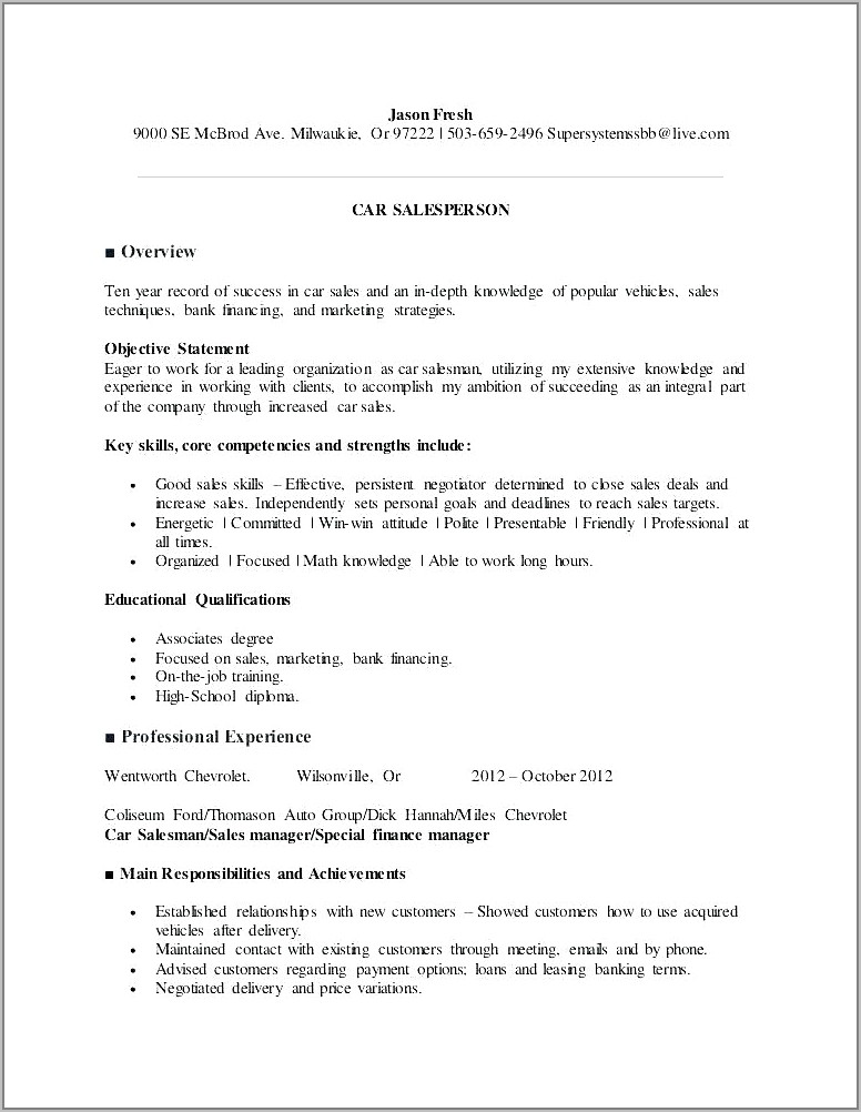 Free Owner Finance Vehicle Contract Template