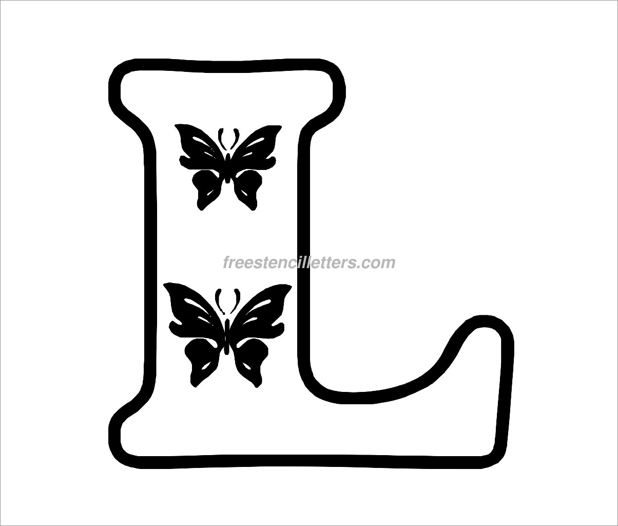 Free Printable Cut Out Letters