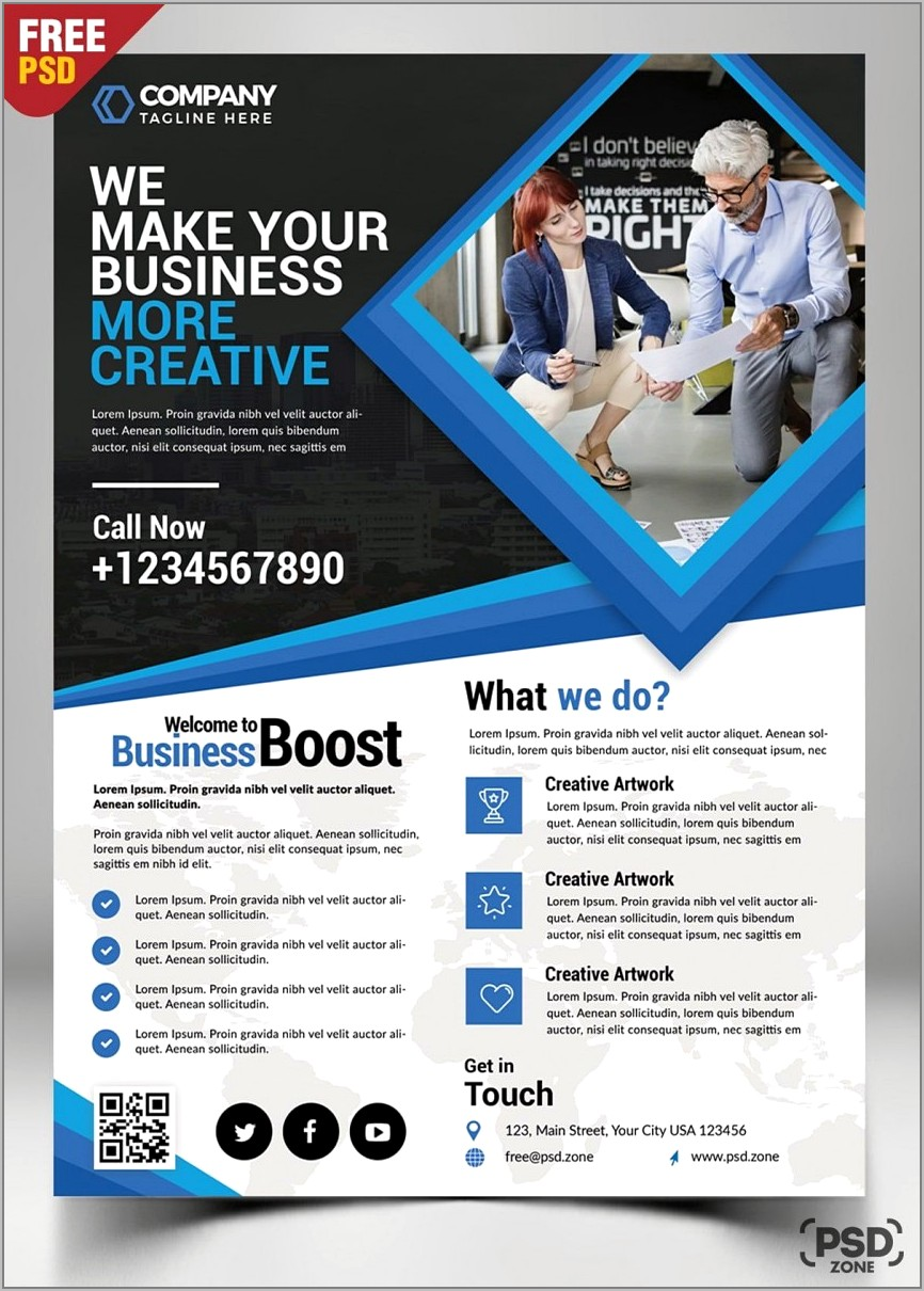 Free Printable Templates For Business Flyers