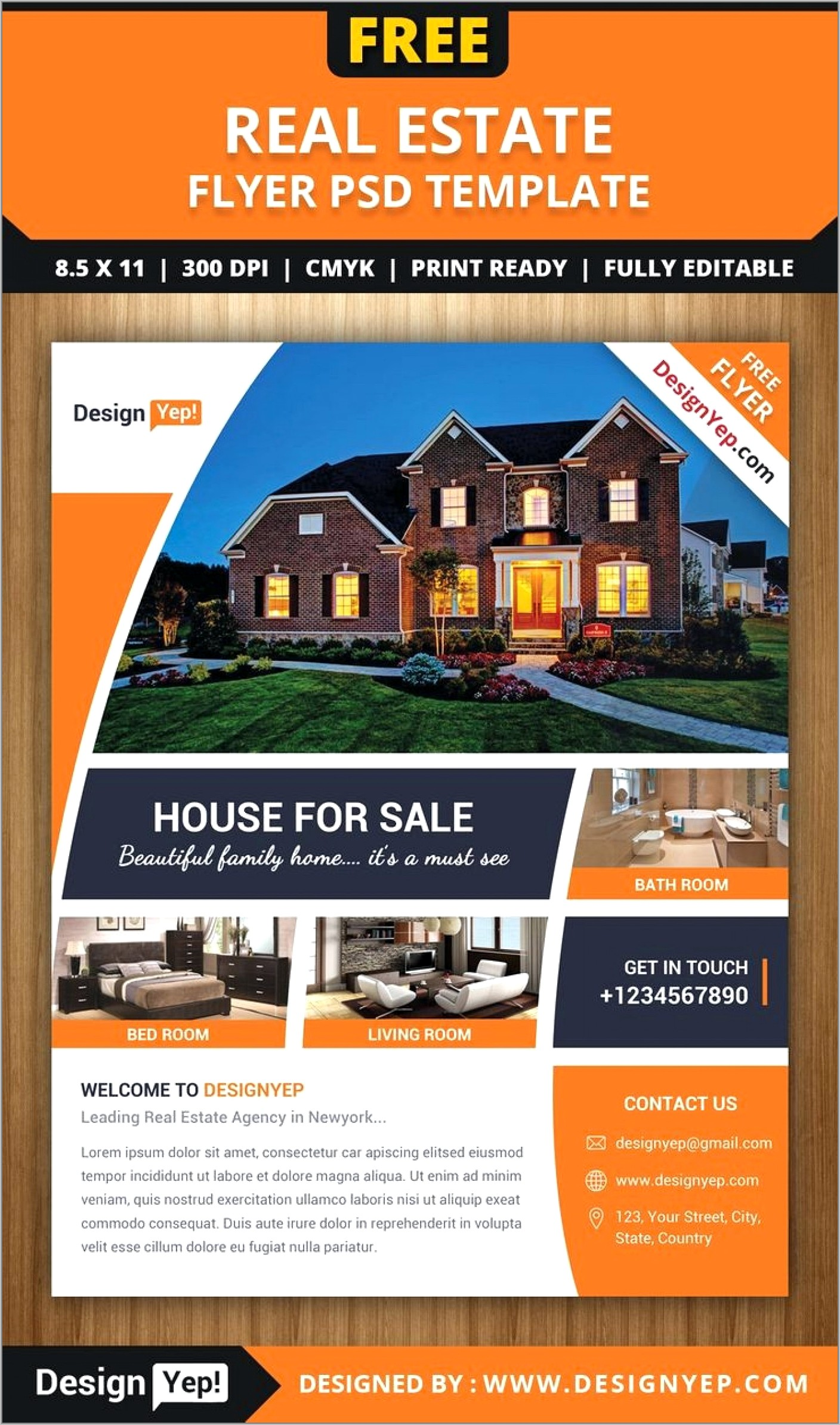 Free Real Estate Flyer Templates Microsoft Word