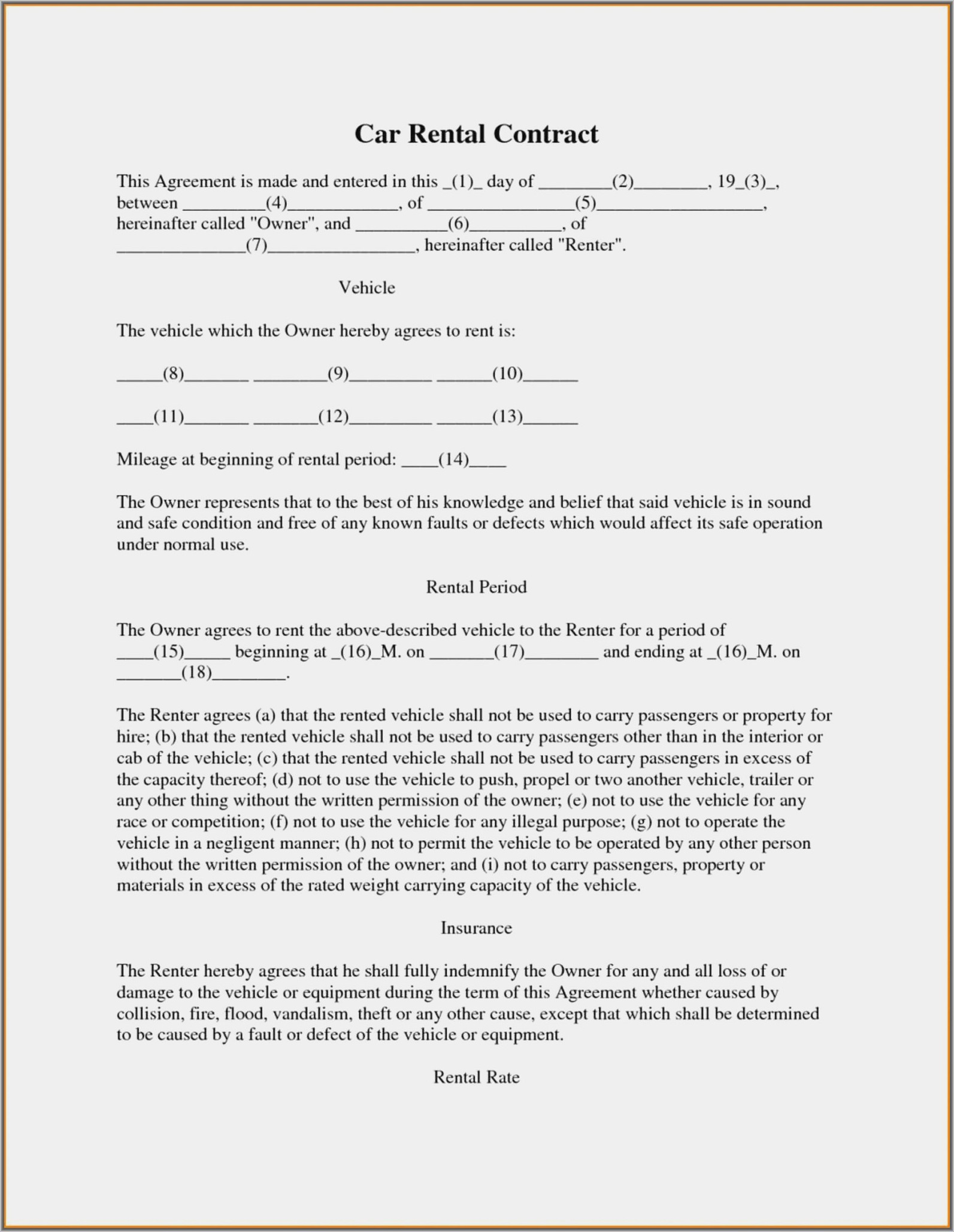 Free Subcontractor Agreement Template Word Philippines