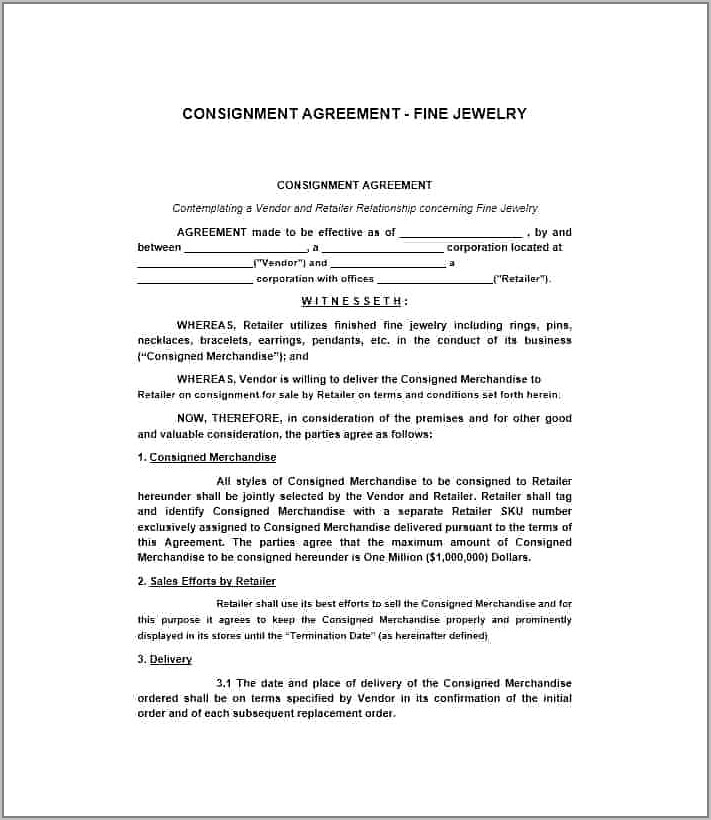 Free Supplier Agreement Template Uk