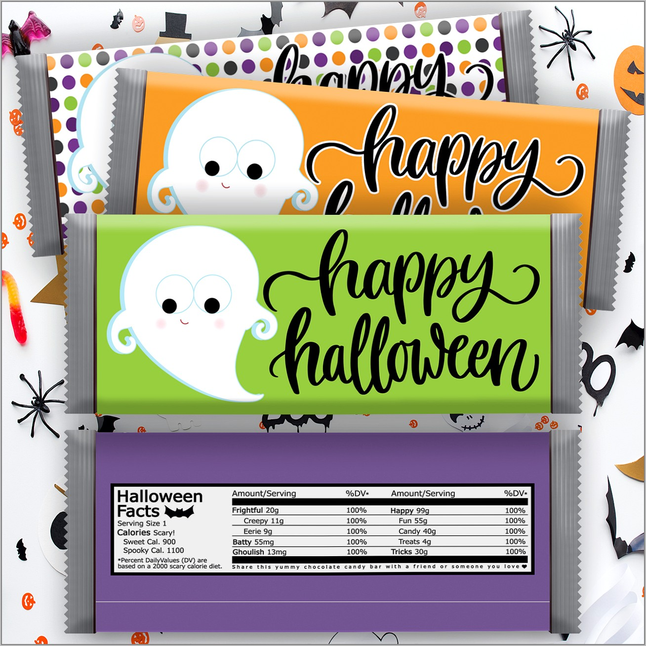 Free Templates For Christmas Candy Bar Wrappers