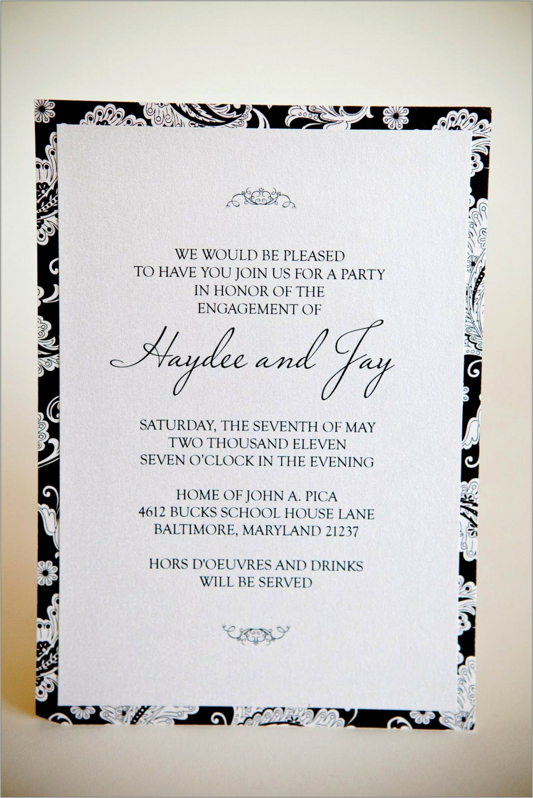 Free Templates For Engagement Invitations