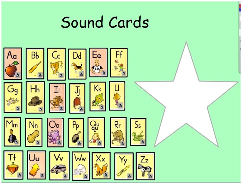Fundations Letter Cards Printable