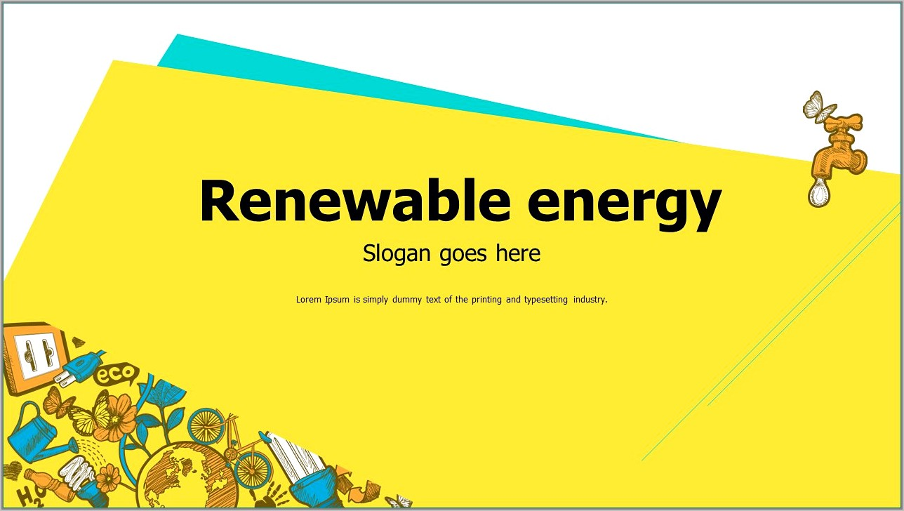 Green Energy Ppt Templates Free Download