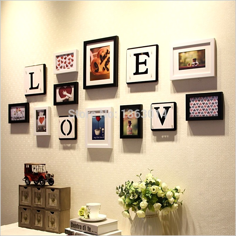Hanging Wooden Letters On Wall