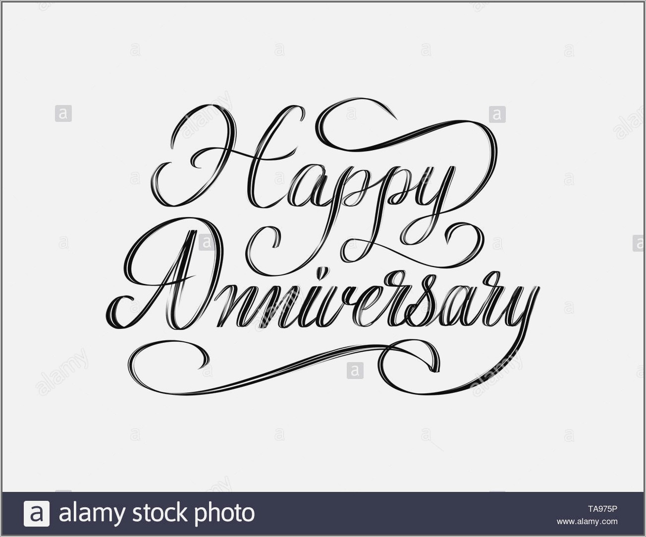 Happy Anniversary Lettering Png