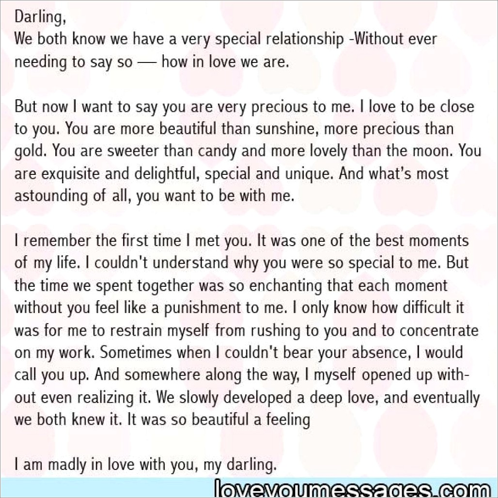 Happy Birthday Letter To Your Girlfriend