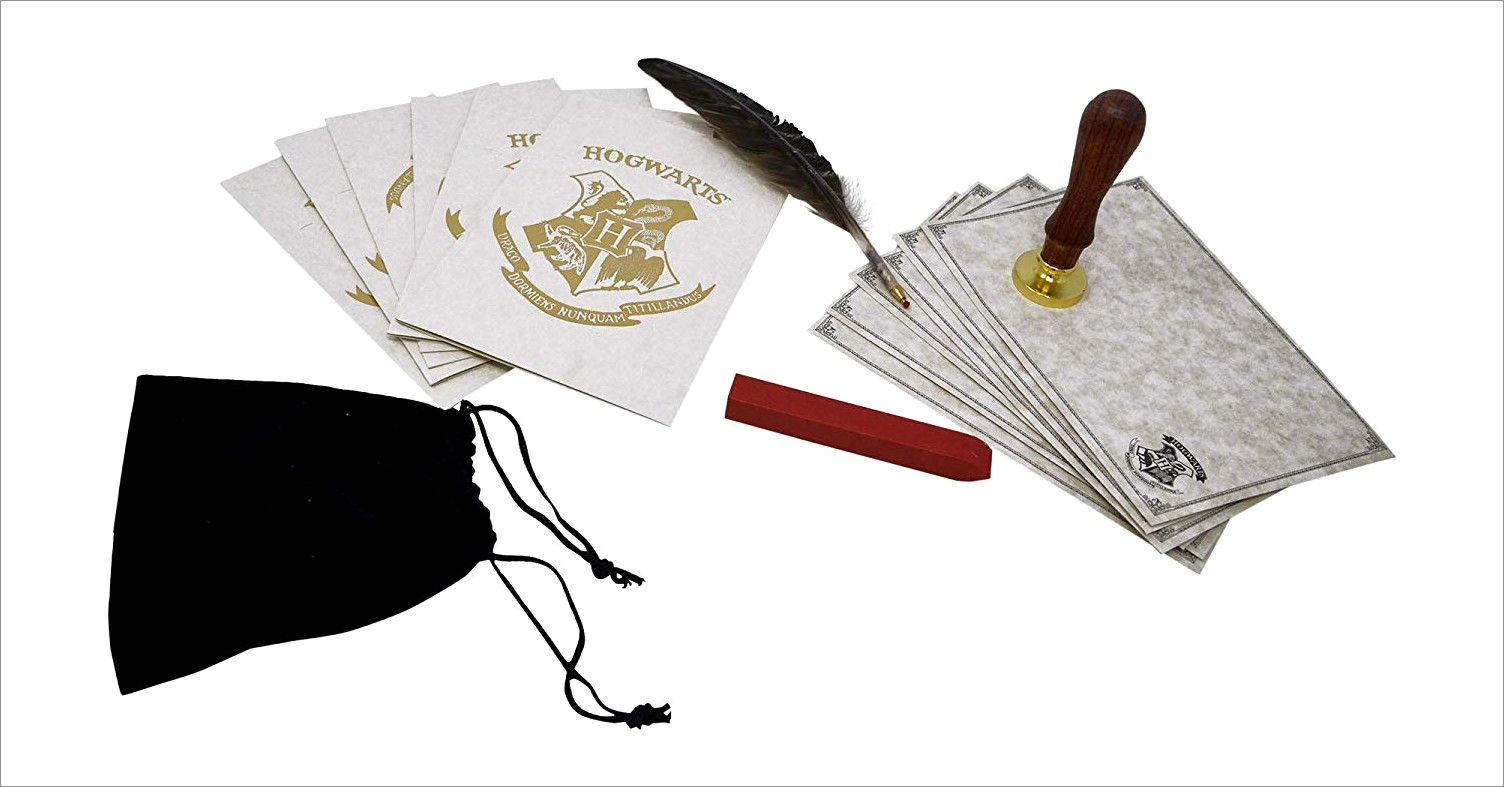 Harry Potter Letter And Wax Seal Kit