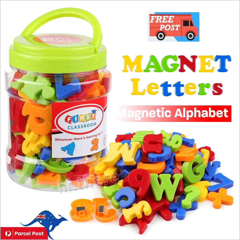 Imaginarium Magnetic Letters And Numbers