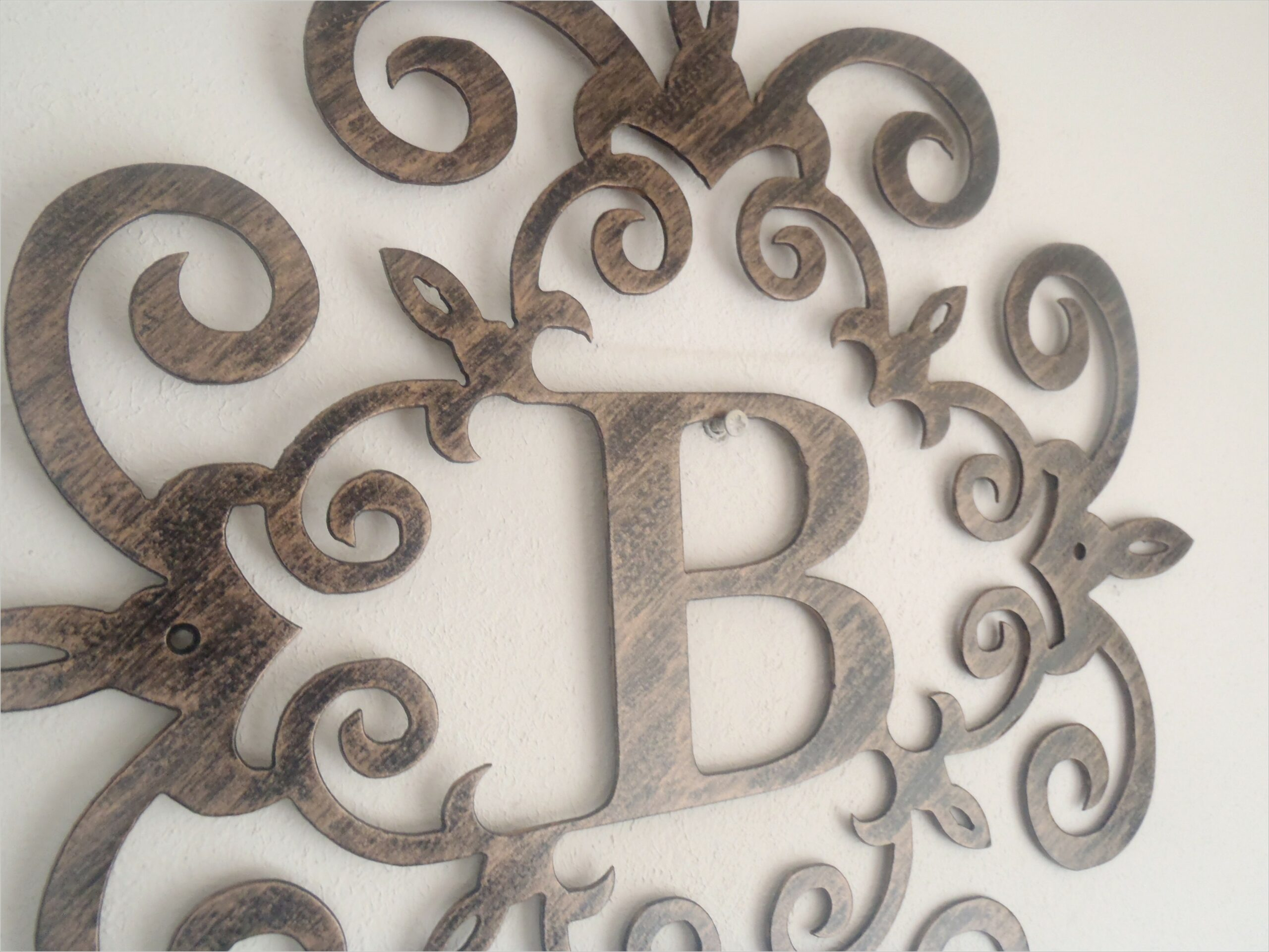 Initial Letters For Wall