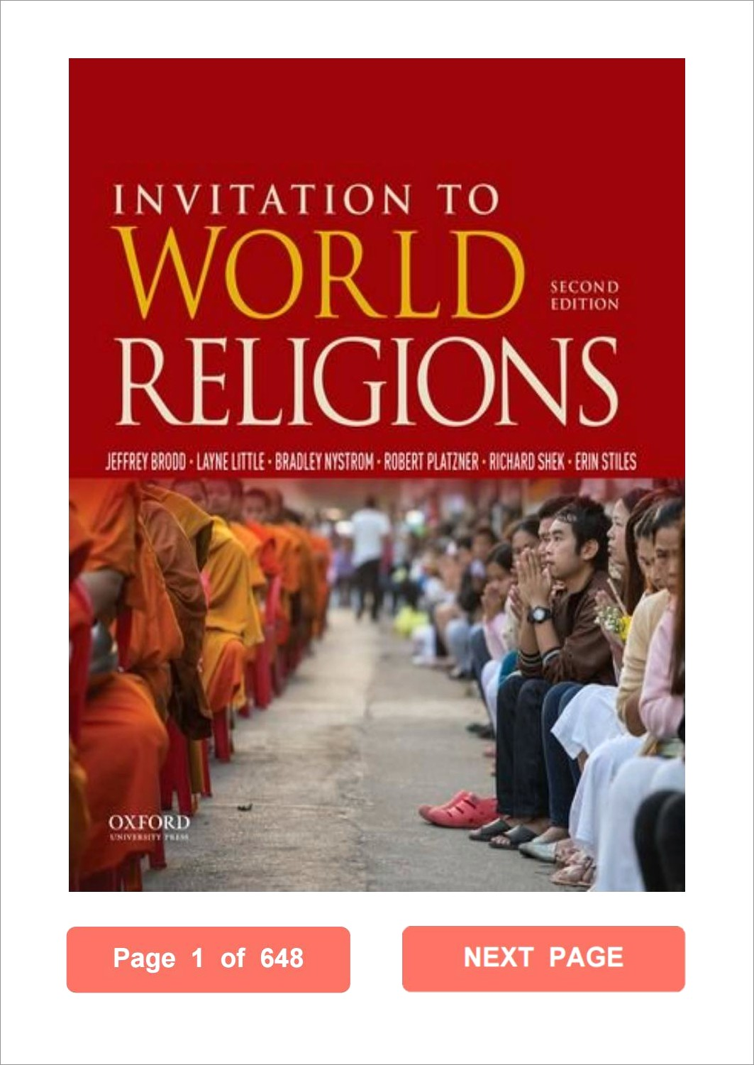 Invitation To World Religions Brodd Pdf Download