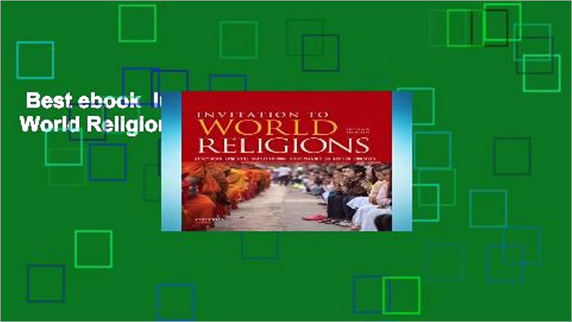 Invitation To World Religions Ebook