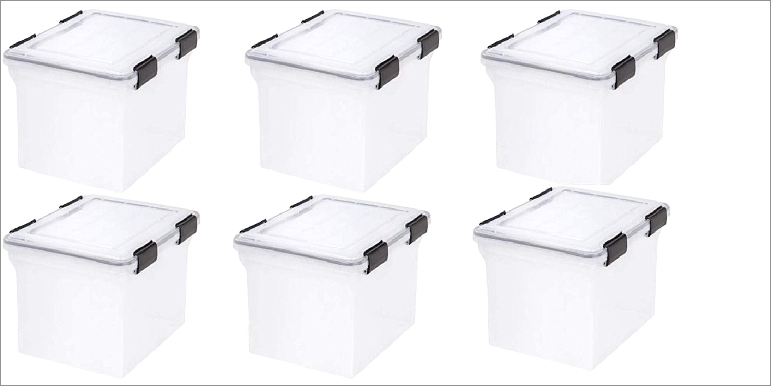 Iris Letter And Legal File Storage Box