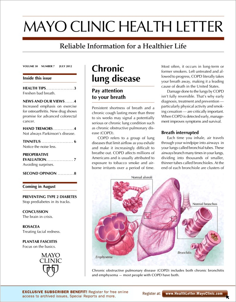Is Mayo Clinic Health Letter Worth It