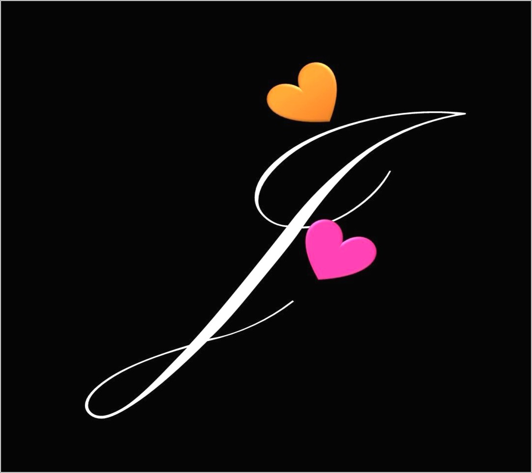 J Letter Images In Heart Download