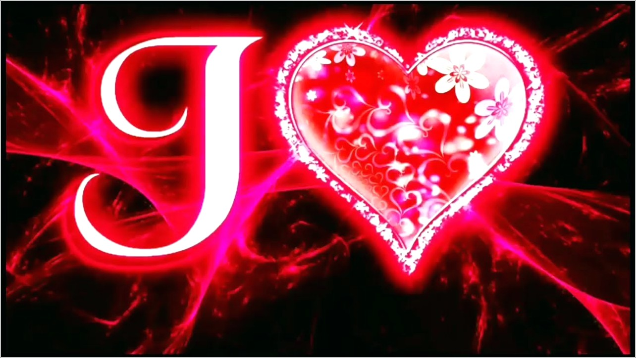 J Letter Images In Love