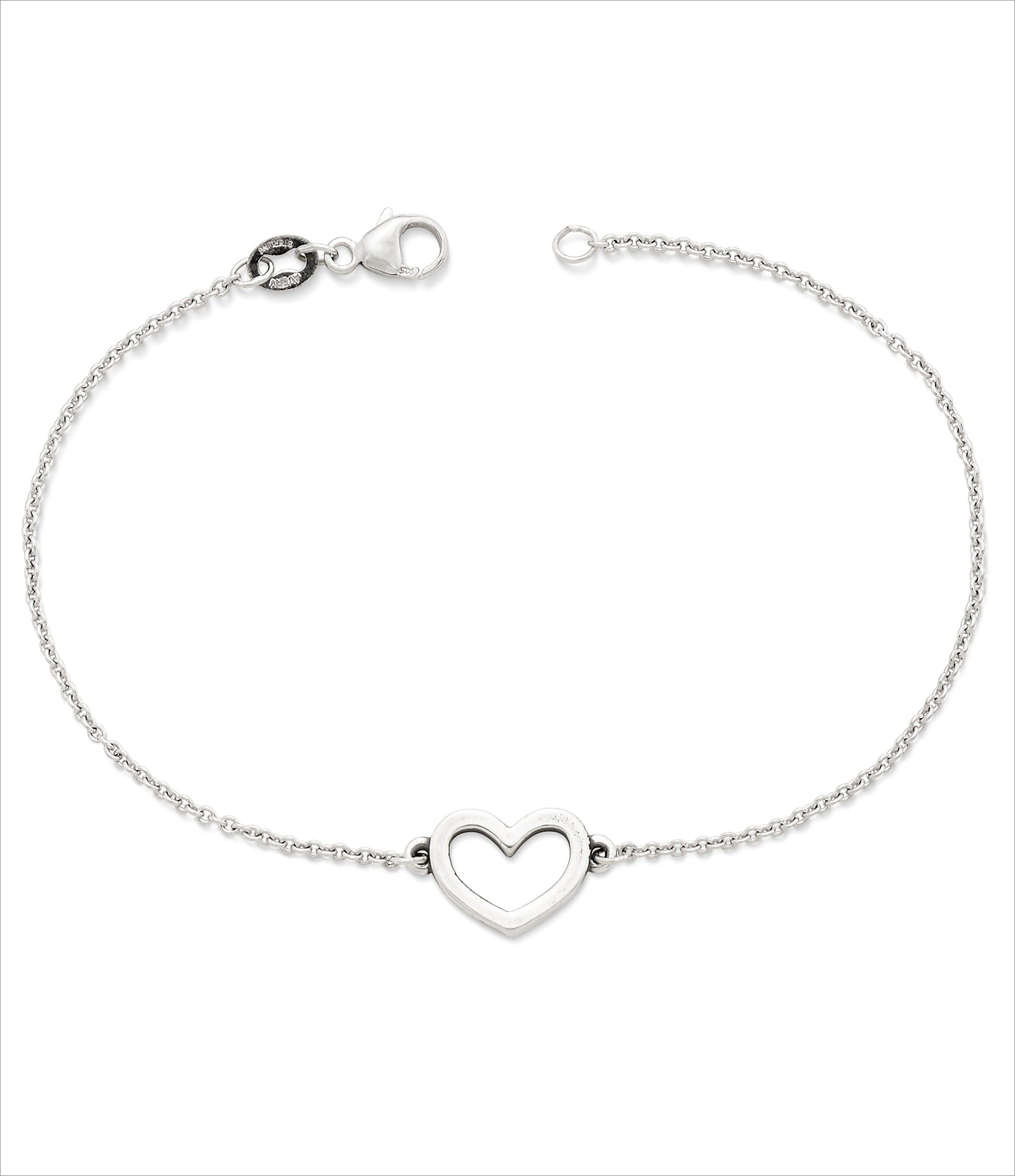 James Avery Anklet Letter A