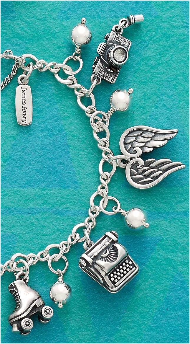 James Avery Letter Charms