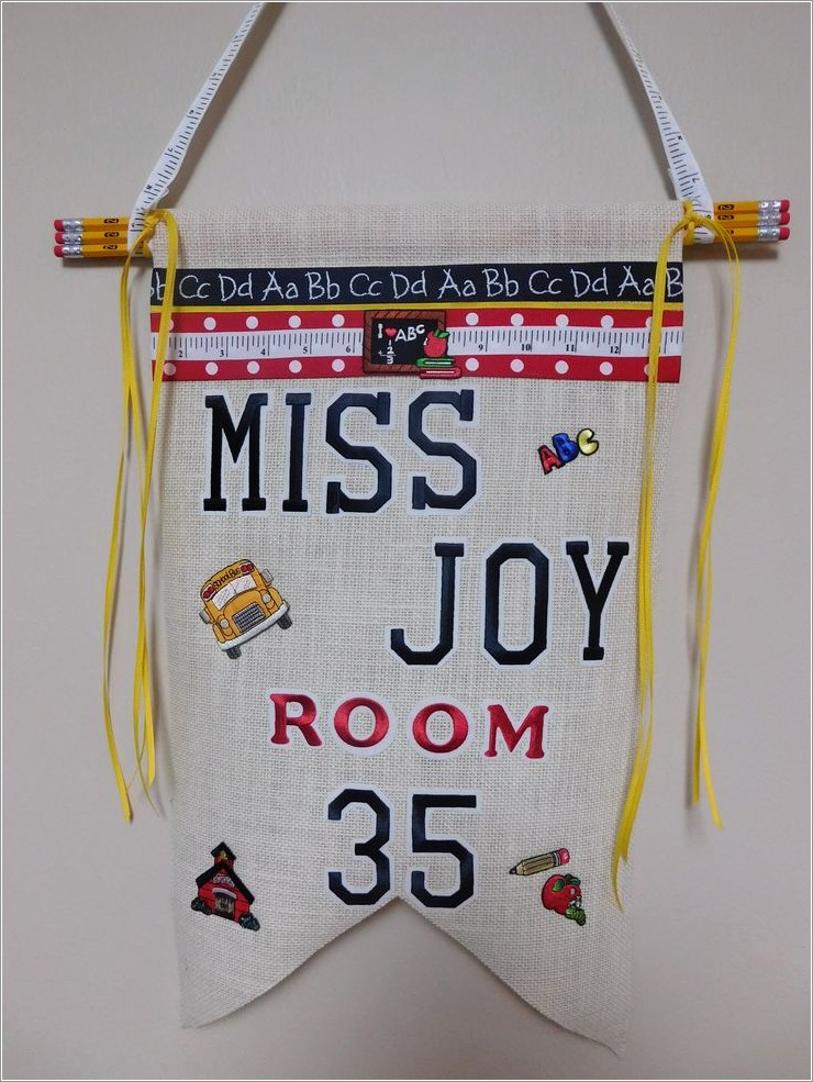Joy Iron On Embroidery Letters