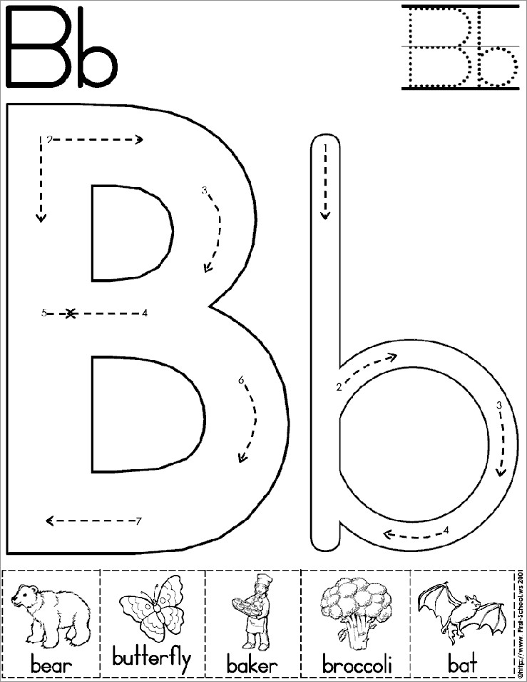 Large Block Letters Printable