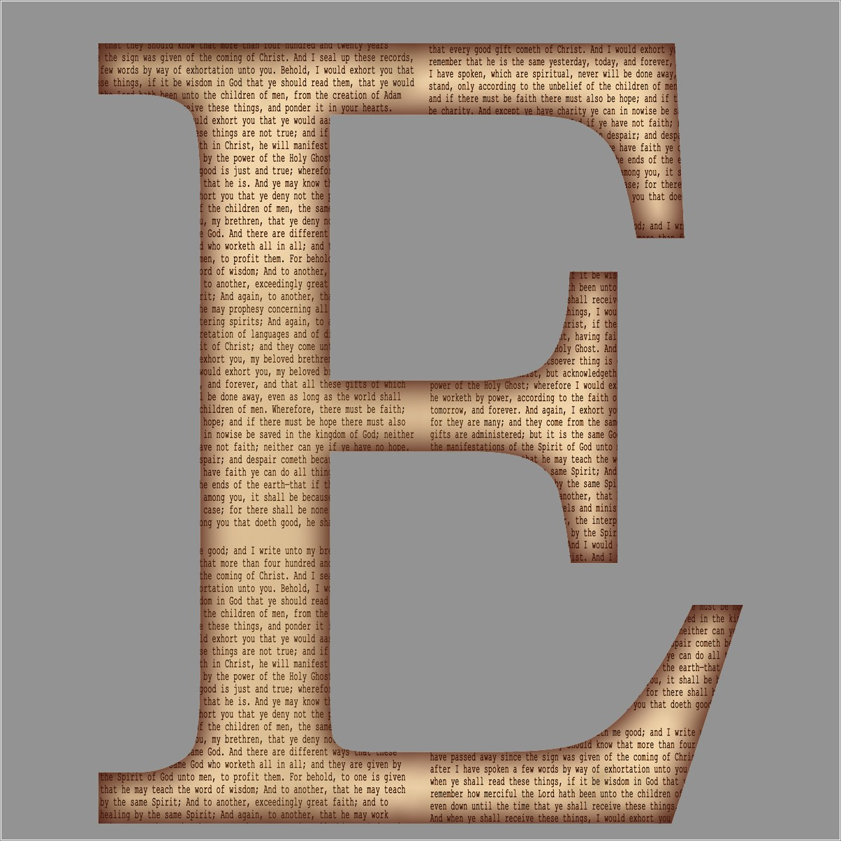 Large Printable Letters Free
