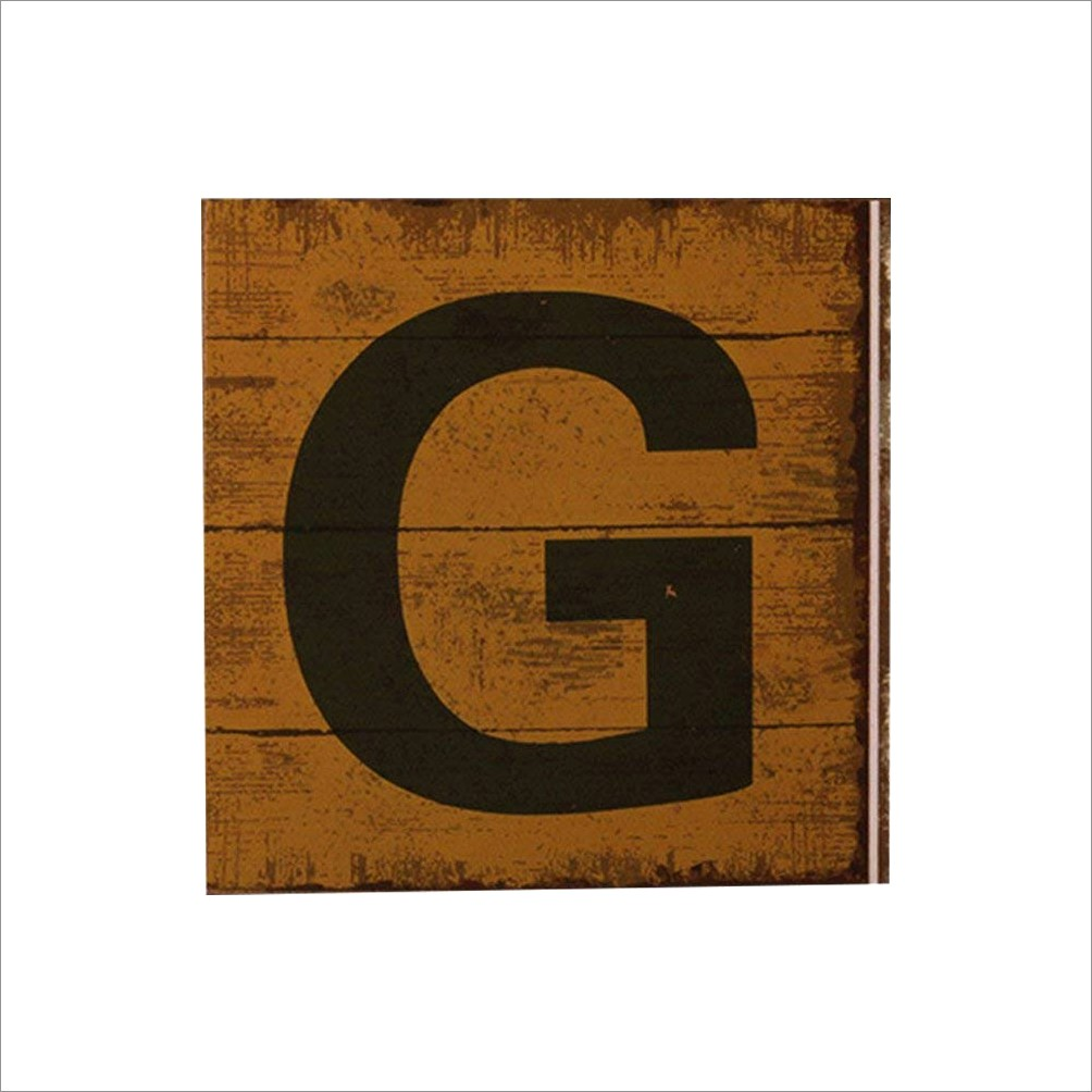 Large Wooden Letters Home Decor