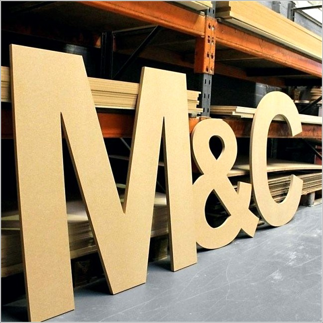 Large Wooden Letters Nz