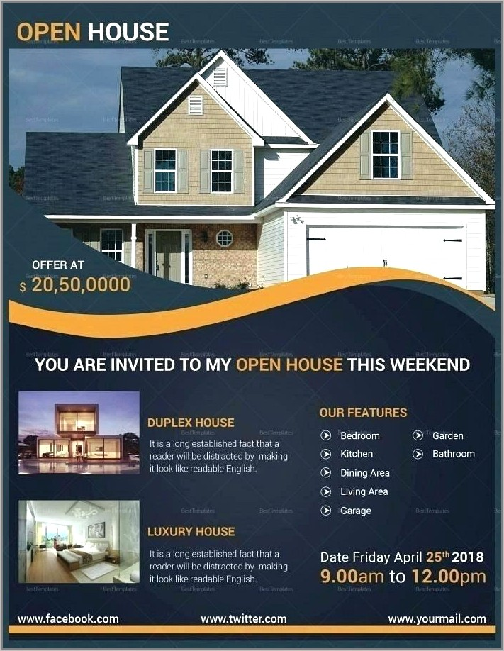 Lease Flyer Template Free
