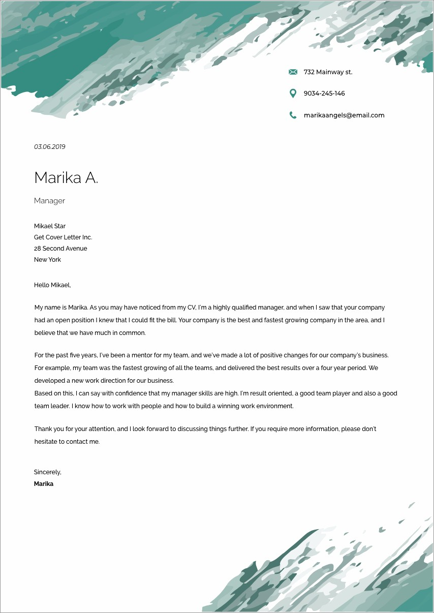 Leasing Consultant Cover Letter Sample