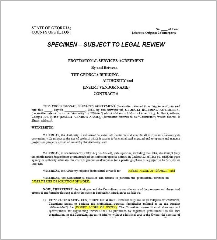 Legal Agreement Template For Child Custody