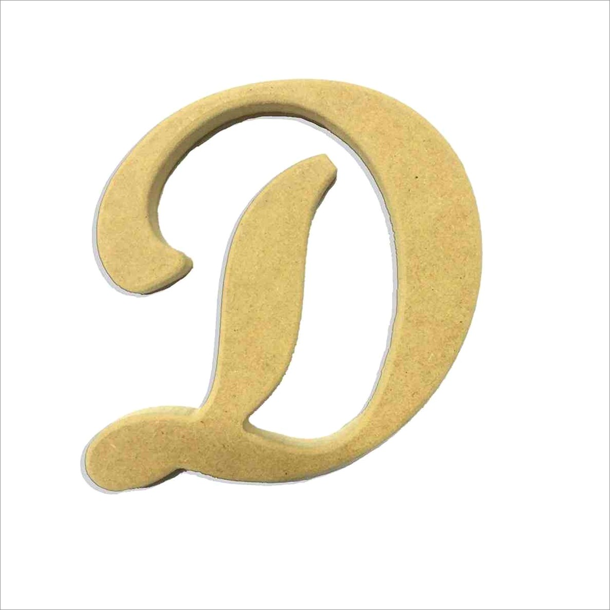 Letter D Calligraphy Style