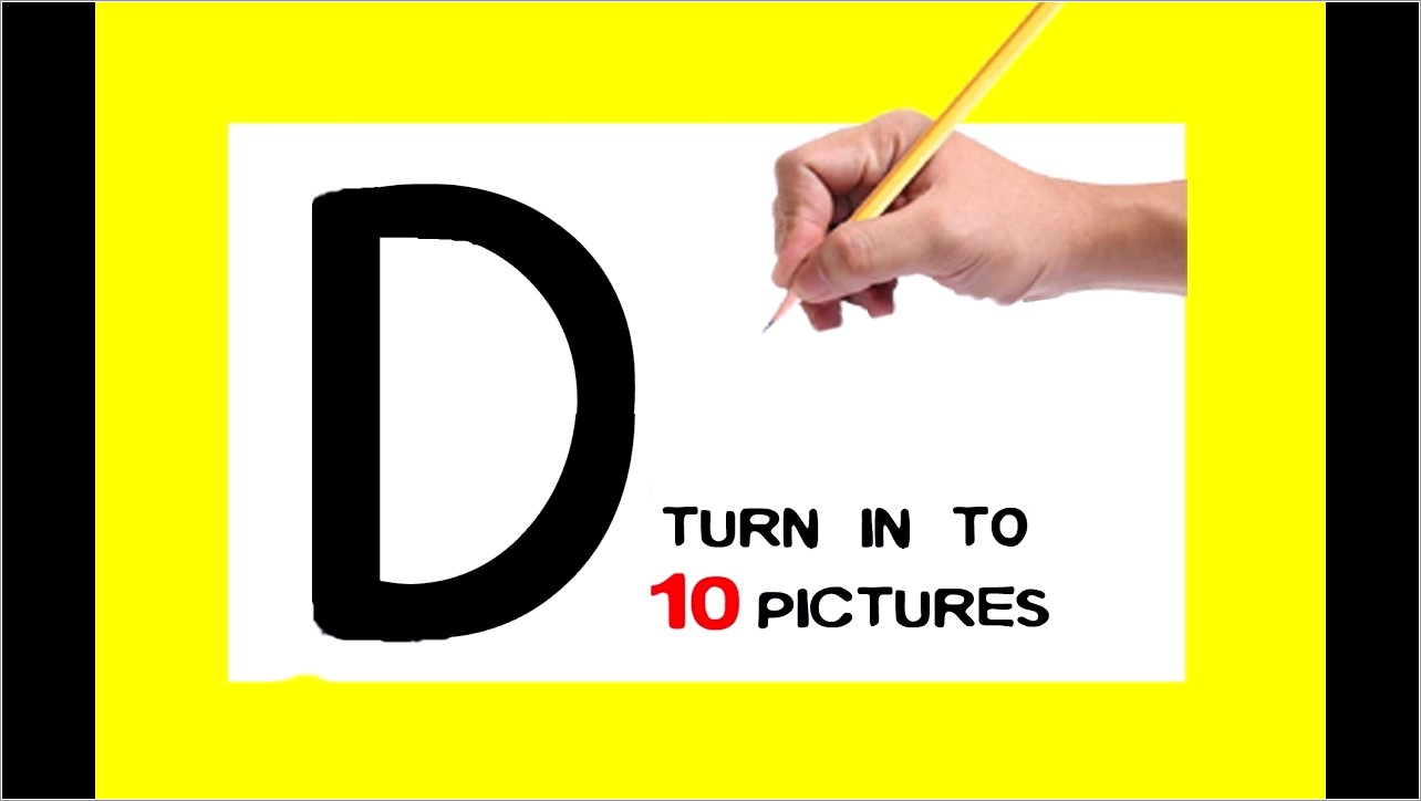 Letter D Pictures For Kids