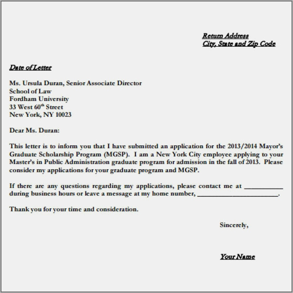 Letter Of Intent To Homeschool