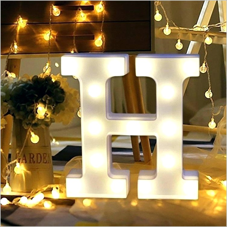 Lighted Marquee Letters Michaels