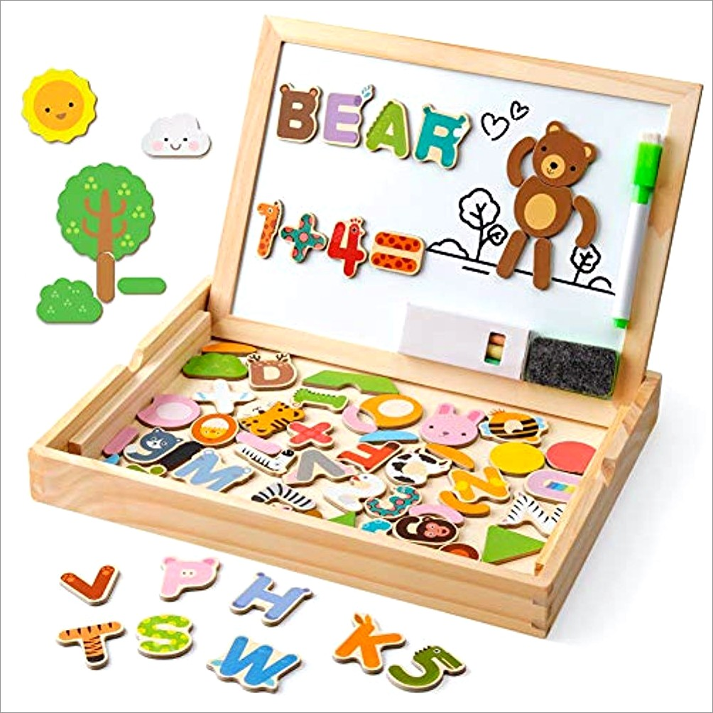 Magnetic Abc Letters Board