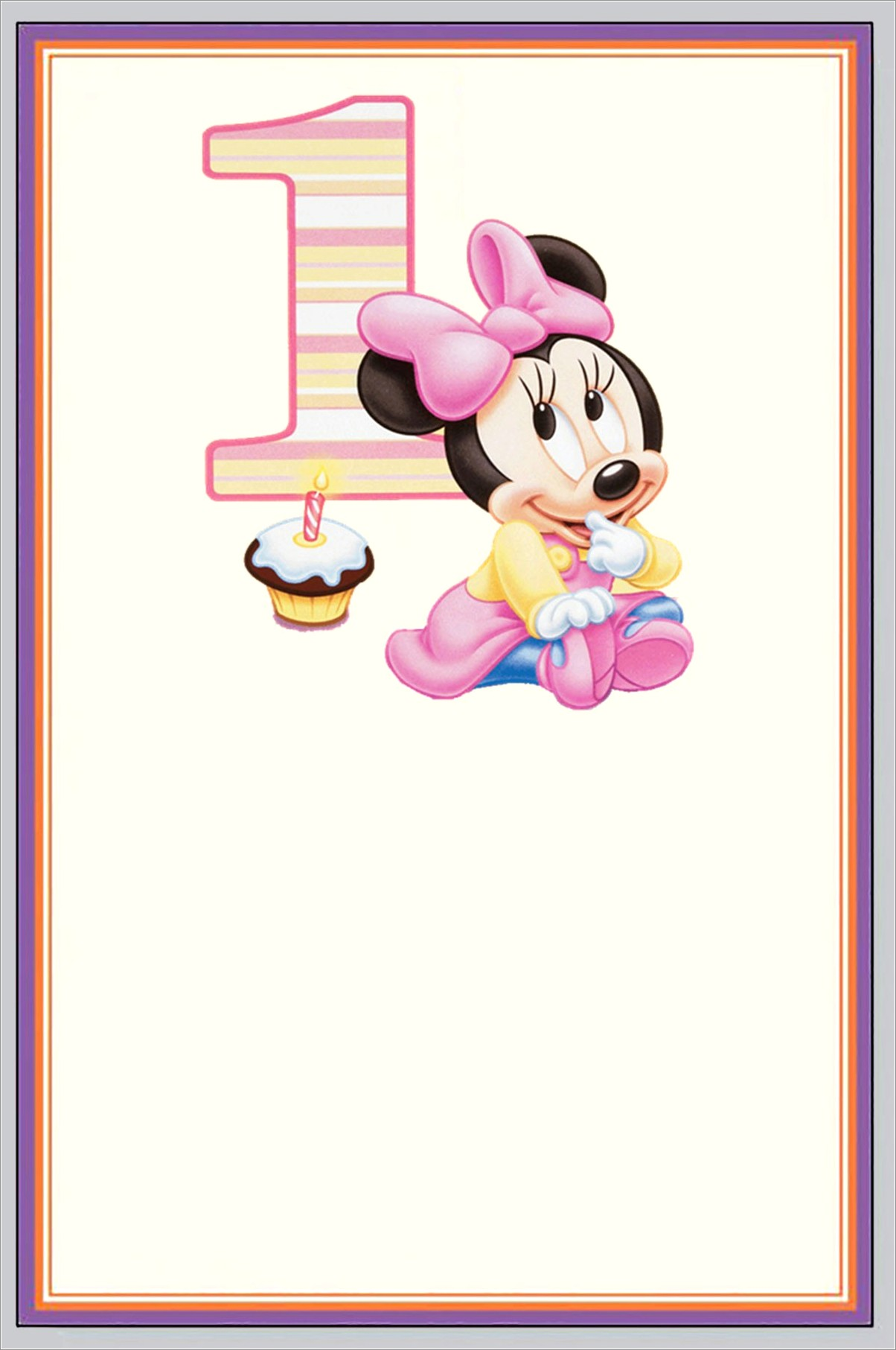 Make Minnie Mouse Invitations Online Free