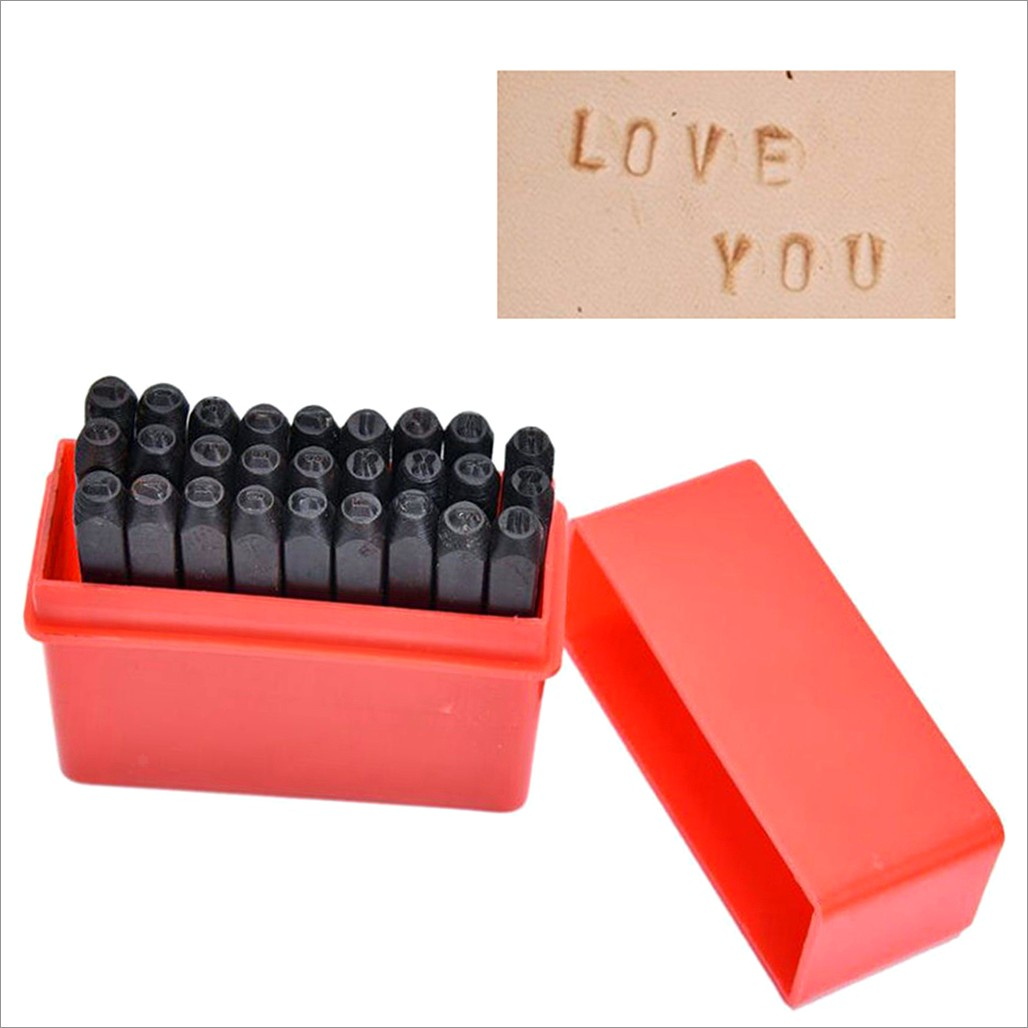 Metal Stamping Letter Sizes